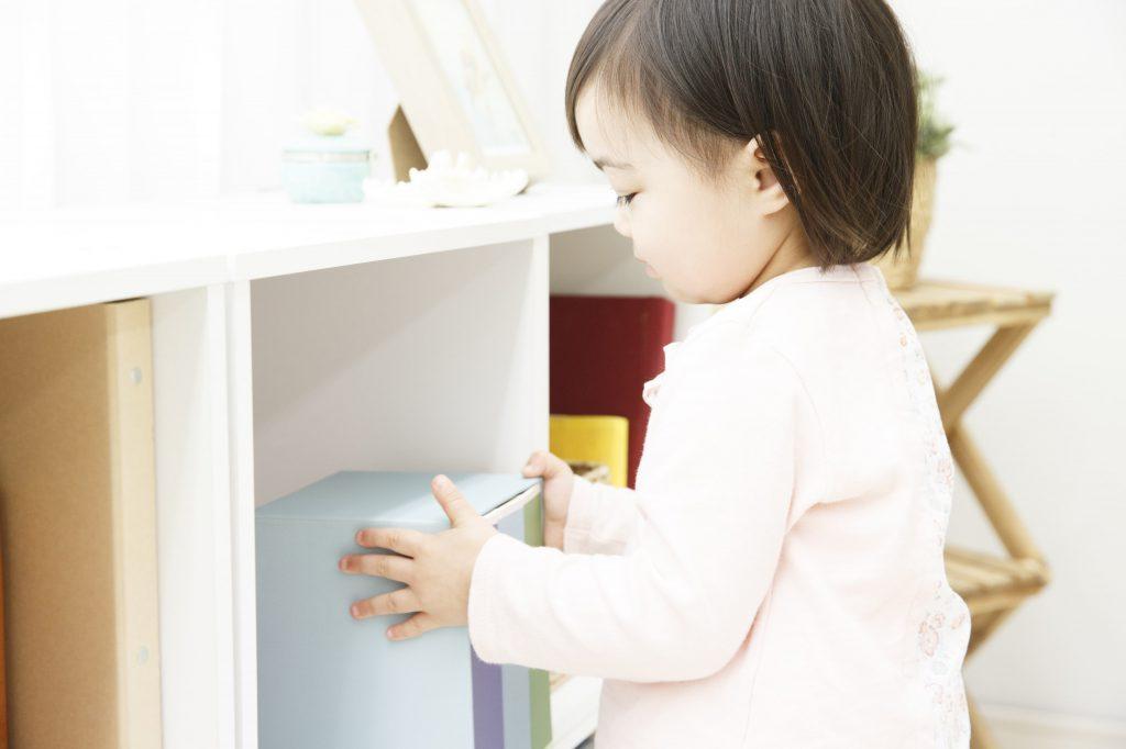 「整理収納いちにち教訓」子どもお片づけいつから教えてあげたらいいの?