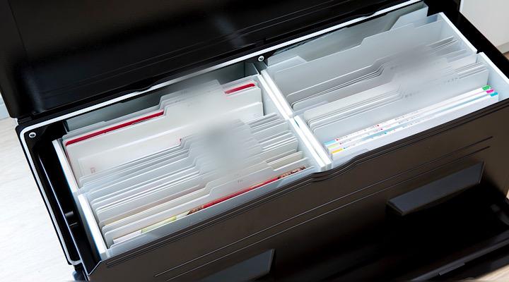 日々よく使う「書類の収納」はどこにどう収納するの?